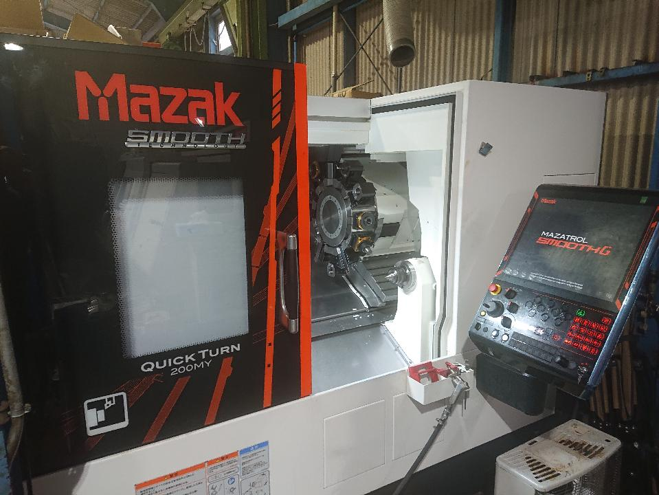 ヤマザキマザック製 CNC旋盤 QUICK TURN 200MY