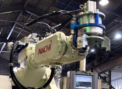 西川製作所搬送ロボット画像